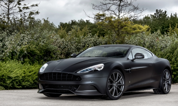 Q By Aston Martin Creates A Unique Vanquish Collection