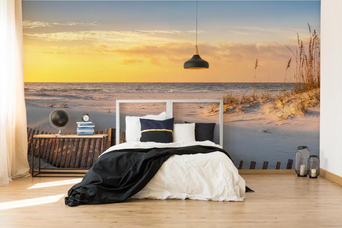 Fototapete Natur Strand und Meer im Schlafzimmer