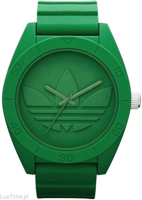 zielony zegarek ADIDAS sportowy