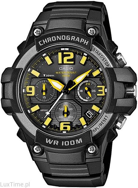 męski zegarek CASIO sportowy