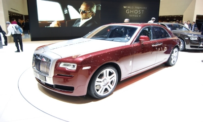 Channel 5: Rolls Royce Phantom 2015