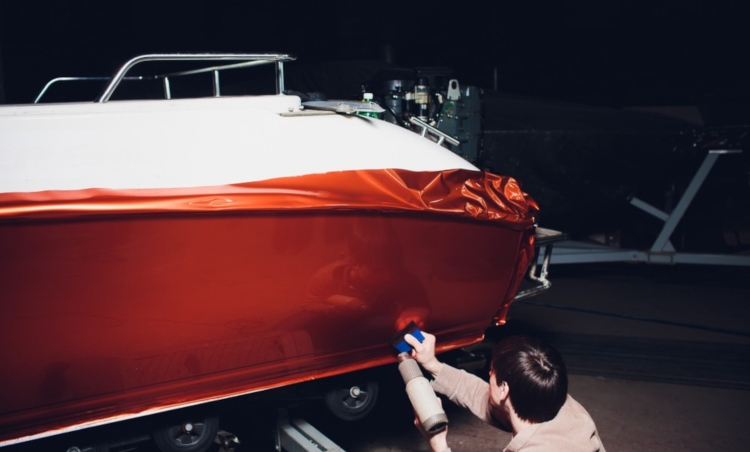 Yacht wrapping