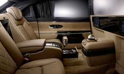 Channel 5: Luxury Maybach 57S Interiors and Exteriors