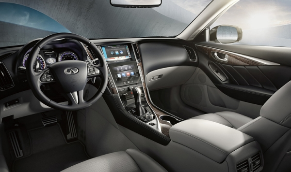 Drive emotionally, rationally Infiniti Q 50
