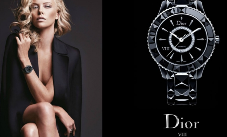 Exclusive diamond watch from Dior