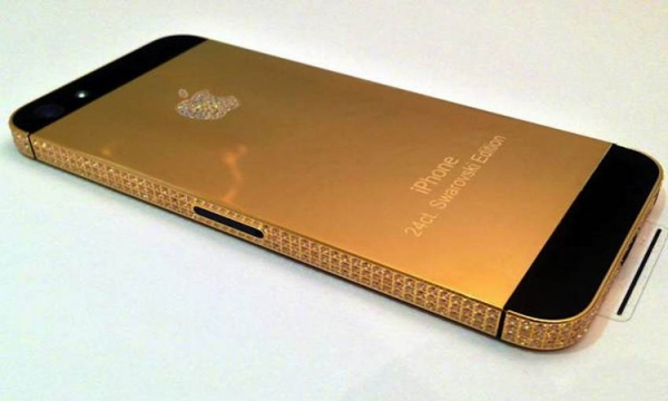 Channel 4: iPhone 5 with black diamonds
