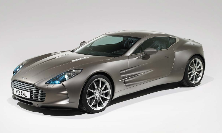 The most exclusive Aston Martin One-77