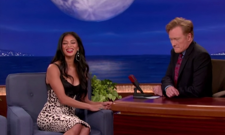 Channel 2: Conan Mesmerized by Nicole's Cleavage