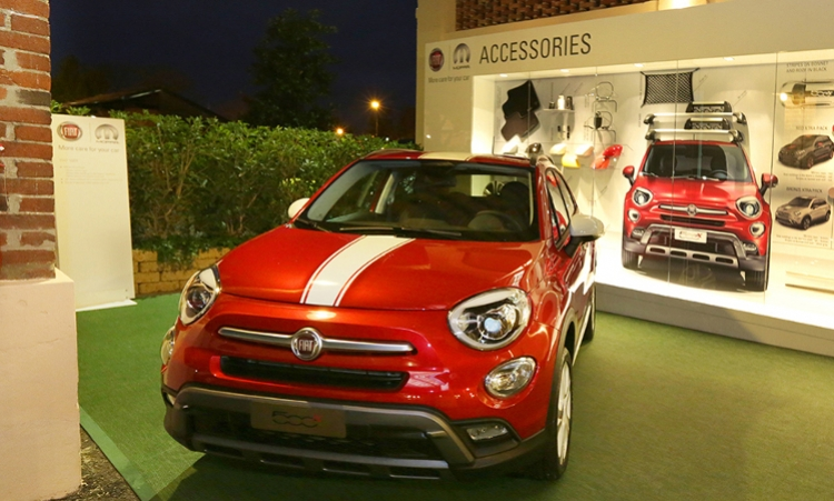 Mopar® designs exclusive accessories and services for the new Fiat 500X