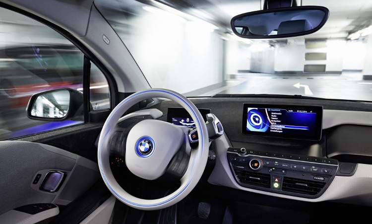 BMW Innovations at the 2015 Consumer Electronics Show